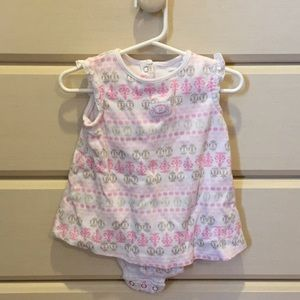 Carter's Pink & Neutral Bodysuit